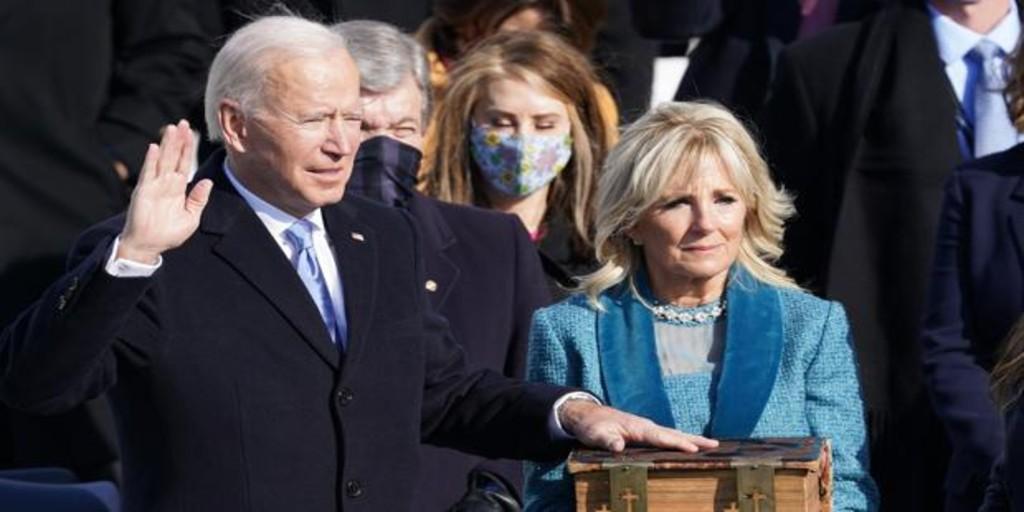 """جو بایدن چهل و چهارمین رئیس جمهور ایالات متحده است: """"دموکراسی پیروز می شود"""""""
